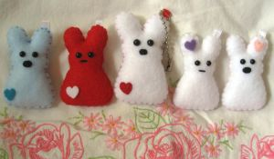 Heart Me Peep Plushes by P-isfor-Plushes