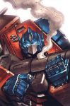 Transformers MTMTE #9 RI cover colors by khaamar