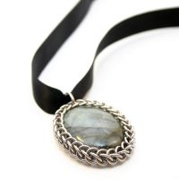 Wrapped Labradorite Pendant by Utopia-Armoury