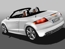 New Audi TT Roadster 2009 by Dap1987