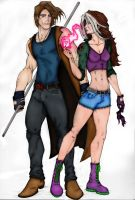 Gambit and Rogue by ButIStillw8ting