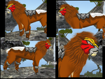 Entei present Feral Heart by Darkaus