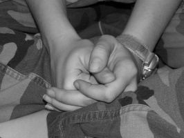 Clasped Hands by ankashai