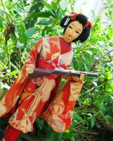 Rambo the Beautiful Geisha by BeatUpCreations