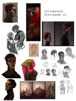 Sketchdump 12 by ZetsubouZed