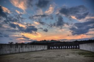 Sunset on the Range by Natures-Studio