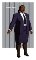 YOUNG JUSTICE: AMANDA WALLER by Jerome-K-Moore