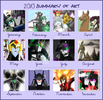 2010 Art Summary by Imber-Noctis