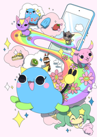 Kawaii Pet MEGU by PinkGermy