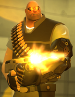 'Sarif Industries' Heavy Weapons Guy by RAGEPANDDEMOMAN