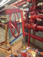 the red valve - almost there! by PortableParadise