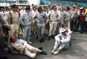 Drivers' Meeting (South Africa 1973) by F1-history