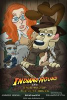 Jenn and Bueno: Indiana Hound by StudioBueno