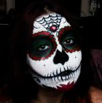 El Dia de Muertos by cromatic-blood