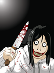 Attack of Jeff the Killer Main Screen by GabKT