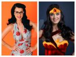 Katy Perry as Wonder Woman. by BLuLIvE