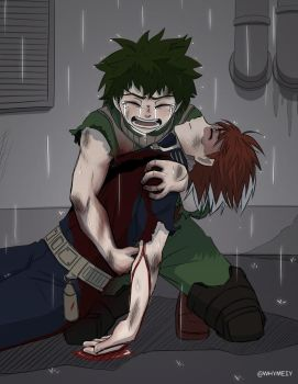 [Tododeku] Please don't leave me! by whymeiy