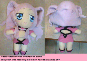 Melona Plushie by Hao-007