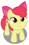 Vector #558 - Apple Bloom #12 by DashieSparkle
