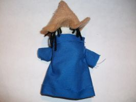 Black Mage Plushie by spastic-fantastic