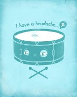 I have a headache by randyotter