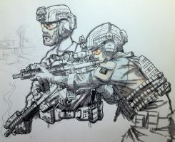 Operators operating operationally by the-maker