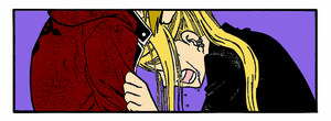 Ed Elric and Winry Rockbell by thechastain4088