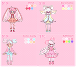 [CLOSED] Original Inklings- Sugar Adoptables by Ghiraham-Sandwich