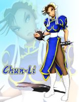 Street Fighter Chun-Li by andre4boys