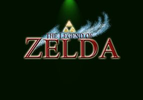 The Legend of Zelda Title by NimbusThunderhead
