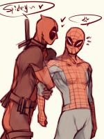 Spideypool38 by LKiKAi