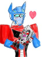 My 'lil Megatron by PurrV