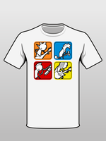 Guitar Hero T-shirt by touik