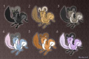 [Closed] Adoptables: Chaos Dragons by MySweetQueen