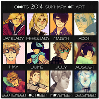 2014 Summary of Art by CO0T