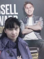 Me and Russell Howard Poster by Londonexpofan