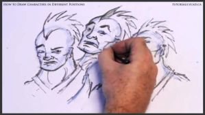 Learn to draw characters in different positions 27 by drawingcourse