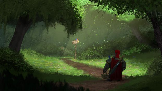Sir Red Riding Hood by ANHII