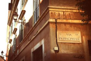 In the streets of Rome by SmurfKai