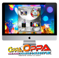 OPPA,OPPA desktop set for Mac by coyote777