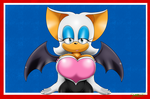 Rouge The Busty Bat .:AT:. by BIGDON1992