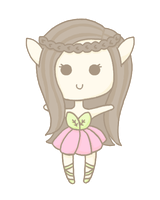 OC: Elf Girl [unnamed] by Cupcake-Kitty-chan