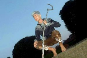 Jack Frost ~ cosplay @ Lucca Comics and Games by LuXoN94