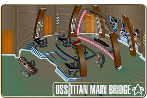 uss titan bridge oblique view by S0LARBABY