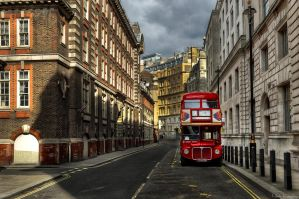 London afternoon by NickKoutoulas
