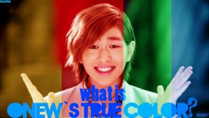 onew tue colors wat is it by shenellah