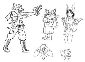 Random sketches and crap by frenzee