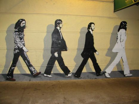 The Beatles by onceuponatime08