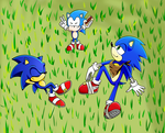 The Three Hedgies by ChristianHedgie