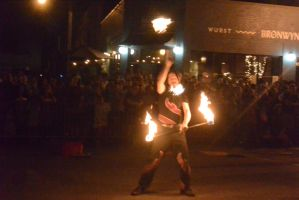 Ignite the Night Fire/Food Fest,Two Handed Flamin3 by Miss-Tbones